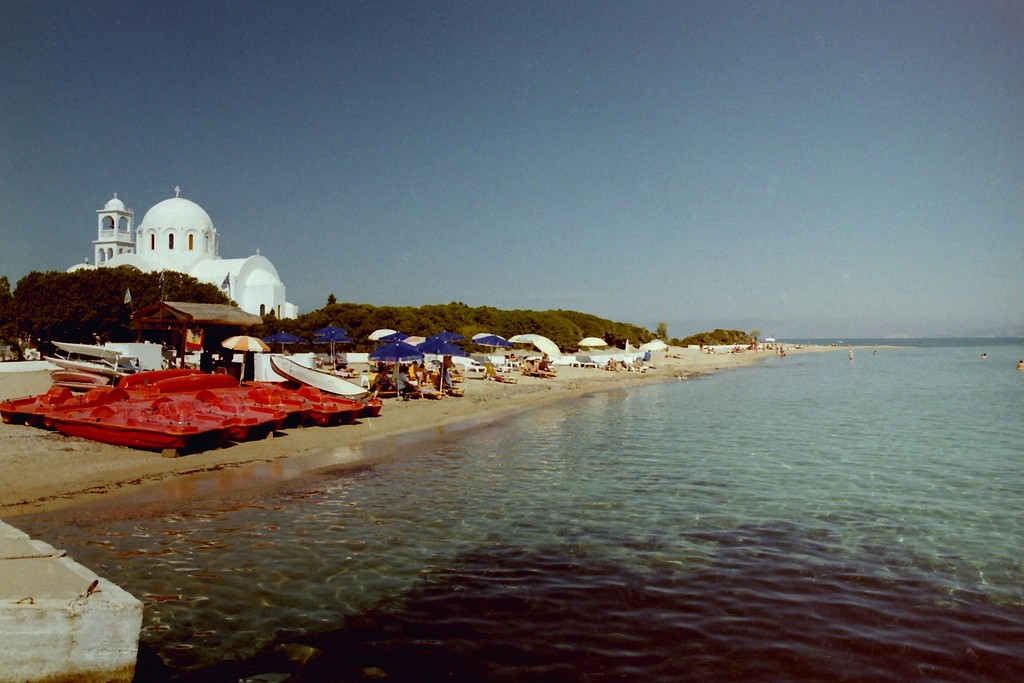 Skala beach, Agistri/©James West/Flickr