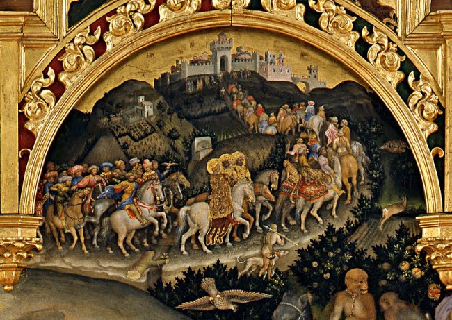 Detail from Adoration of the Magi by Gentile da Fabriano| © Henry Townsend/WikiCommons