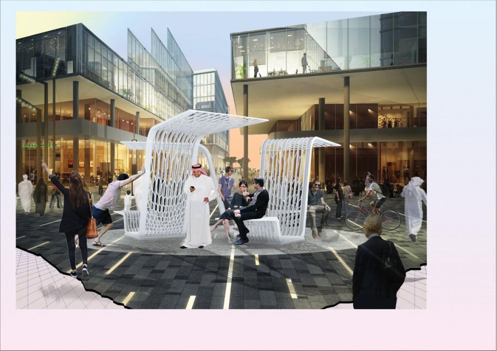 Architect Fortune Penniman Take Shelter, finalist in Urban Commissions   Courtesy Design days Dubai