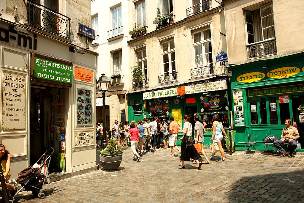 The Jewish Quarter, Paris | © Andrea Schaffer/WikiCommons