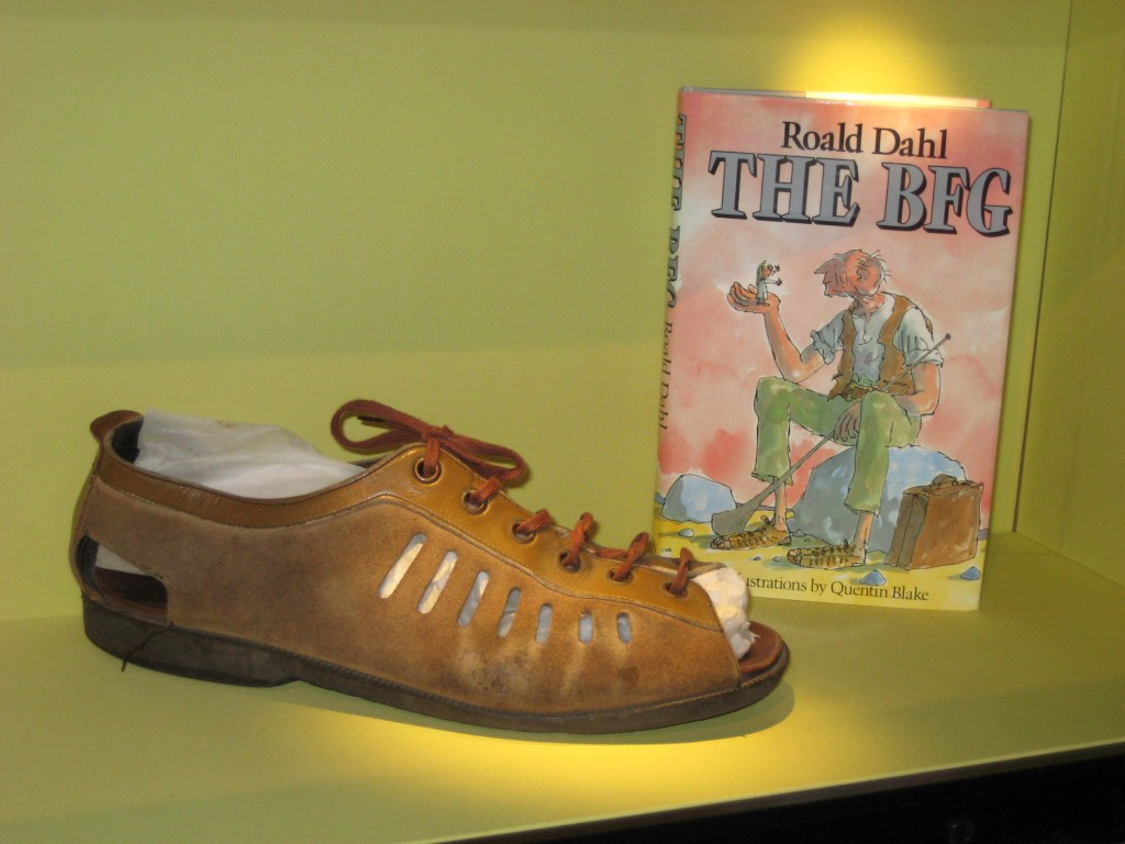 BFG sandal | Courtesy of The Roald Dahl Museum and Story Centre