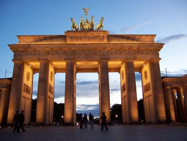 The Brandenburg Gate | © Evans1551 / WikiCommons