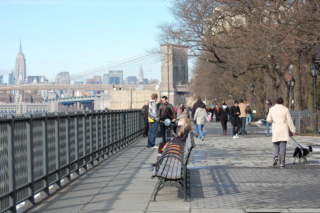 Brooklyn Heights Promenade| © Julie Feinstein/flickr