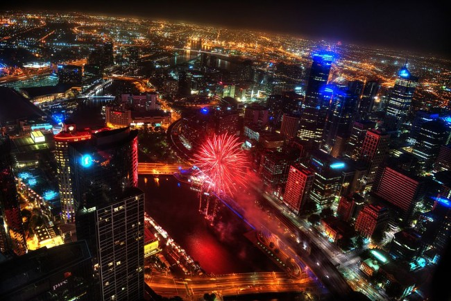 Fireworks to mark the Chinese New Year| © Chris Phutully/WikiCommons