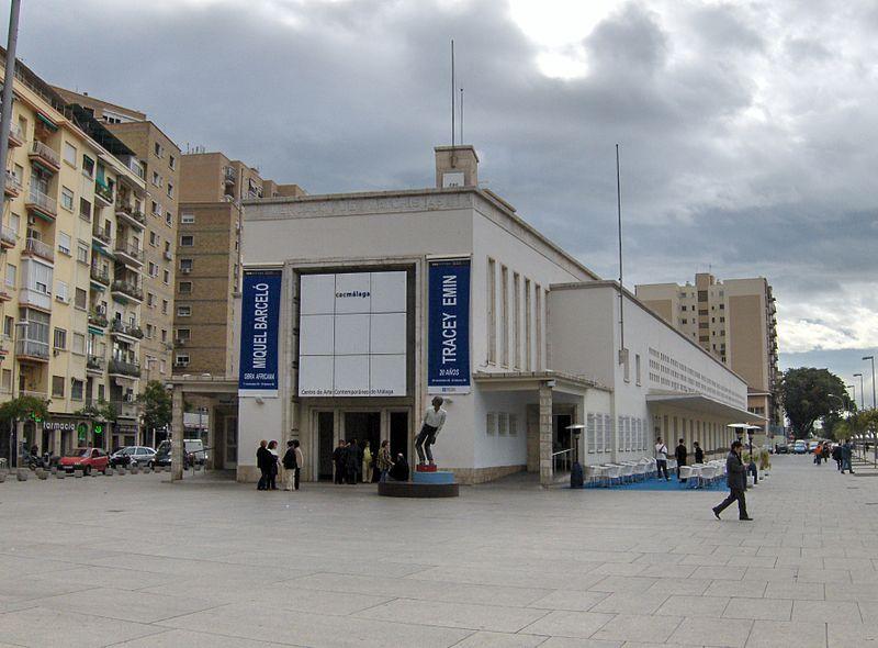 Contemporary Art Center Málaga © Téykriptonita/WikiCommons