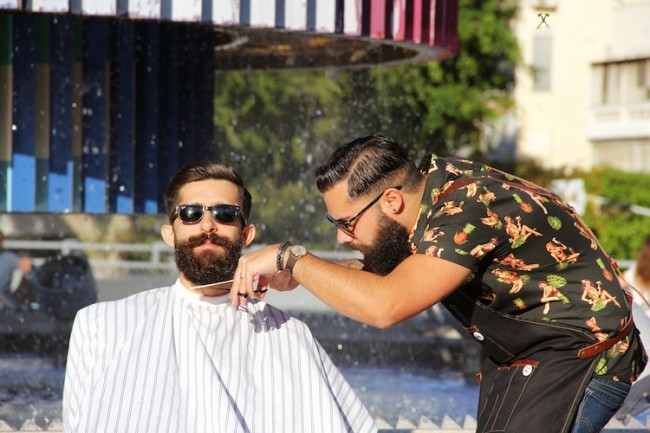 Barberia Barbers | Courtesy of Asaf Gorelik