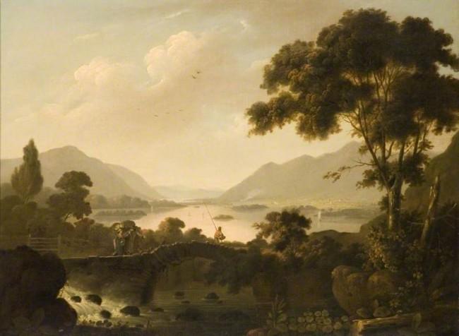 Pennington, John; Lake District Landscape | © Southend Museums Service / Art UK