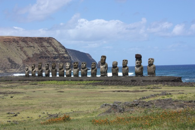 Easter Island, Chile | © Arian Zwegers/Flickr
