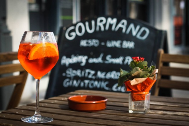 Aperitif at Gourmand | Courtesy of Gourmand
