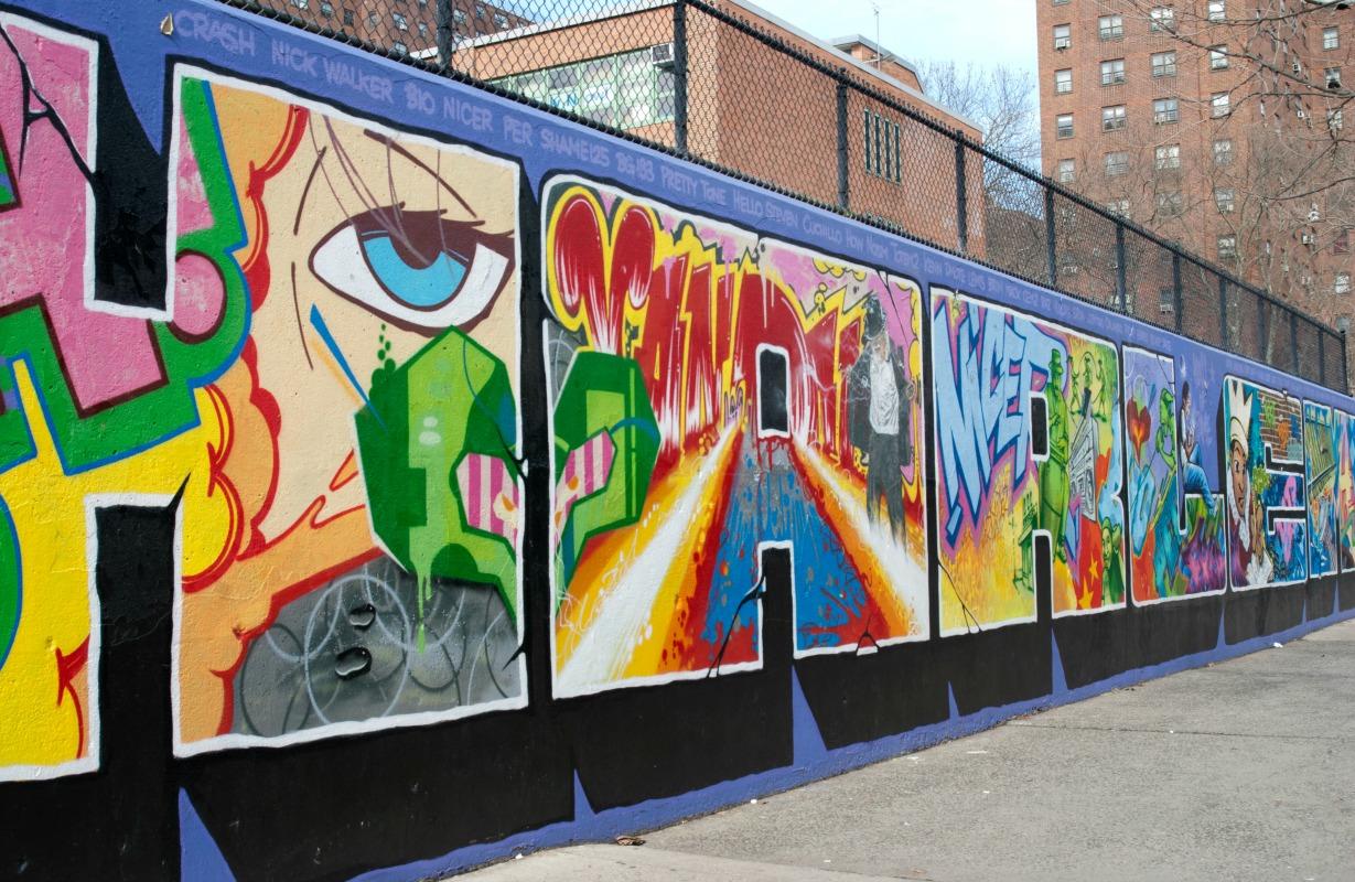 Graffiti Hall of Fame   © Emma Backer