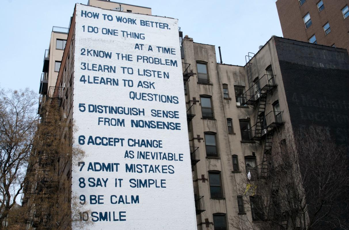 How to Work Better   © Emma Backer