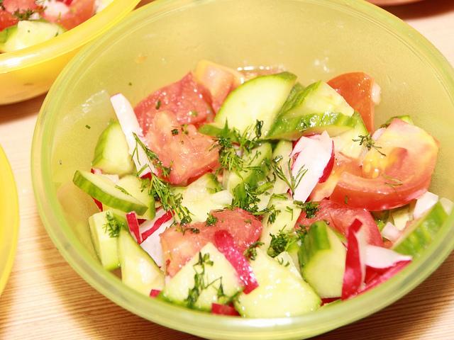 Fresh Vegetable Salad   © Emilian Robert Vicol/Flickr