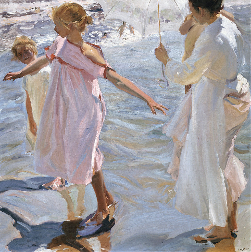 Joaqu n sorolla the spanish artist who depicted his country for Imagenes de cuadros abstractos famosos