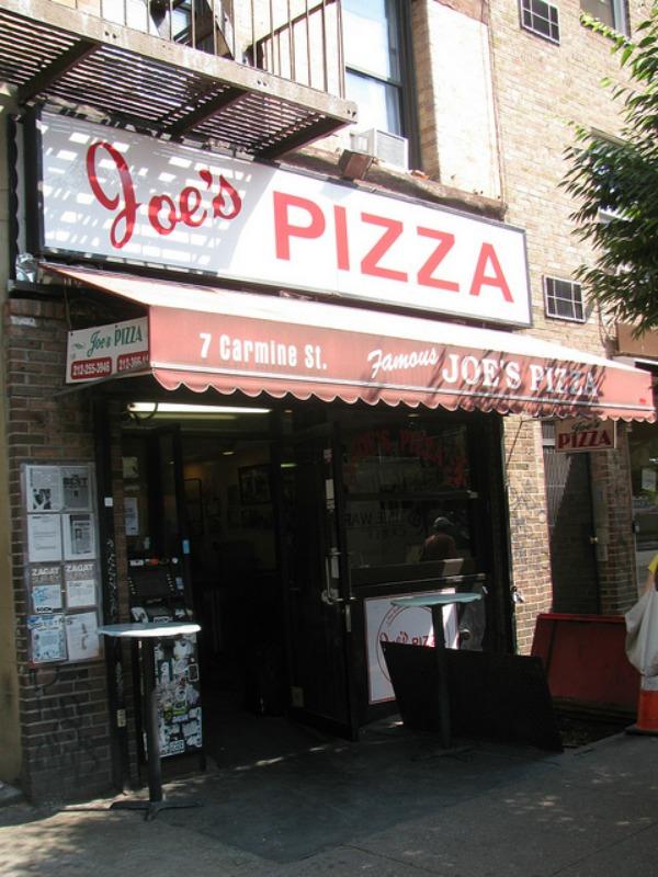 Joe's Pizza| © Eden, Janine and Jim/flickr