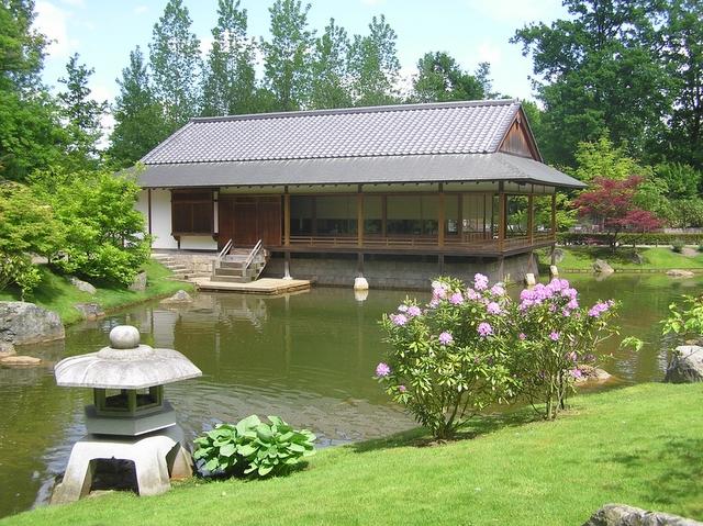 Tea ceremony house in the Japanese garden|© Joachim Köhler/Wiki Commons