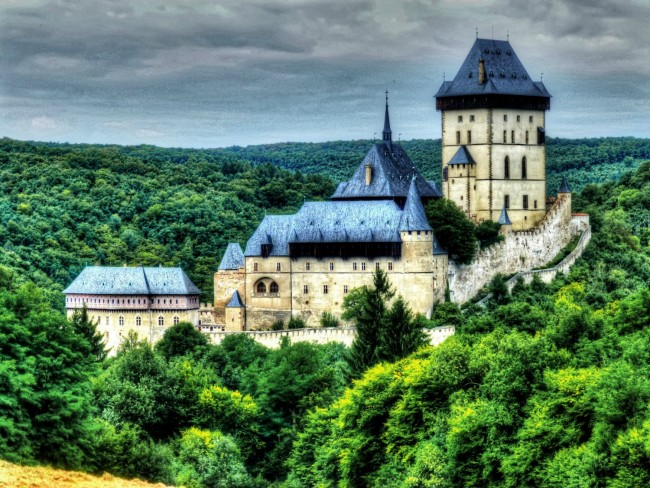 Karlštejn Castle, Czech Republic | © Traveltipy/Flickr