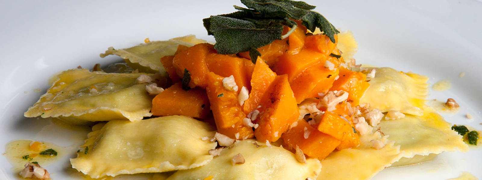 ... with butternut squash, sage, butter and walnuts | Courtesy La Sosta