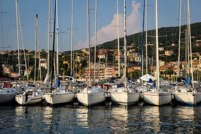 Sailboats in the harbour of Lerici, Italy | © Pank Seelen/Flickr