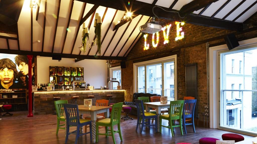 Loft bar at The Jam Tree Chelsea | Courtesy of The Jam Tree