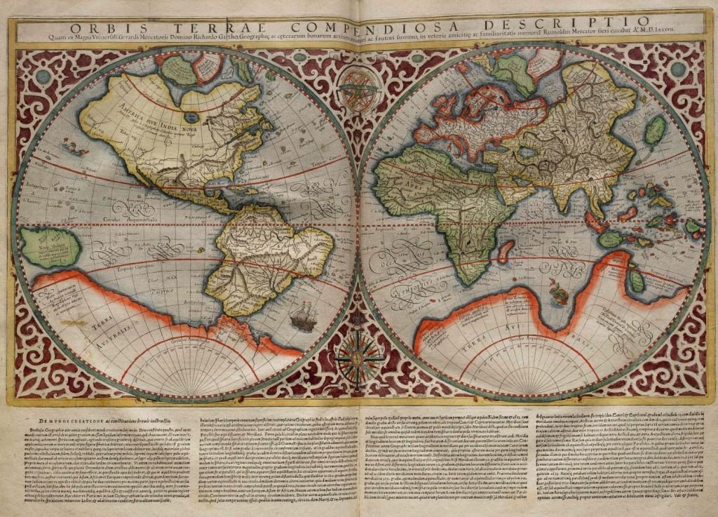 World Map   © Rumold Mercator/WikiCommons