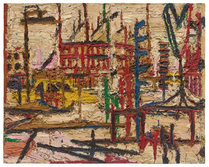 Mornington Crescent by Frank Auerbach (1965)
