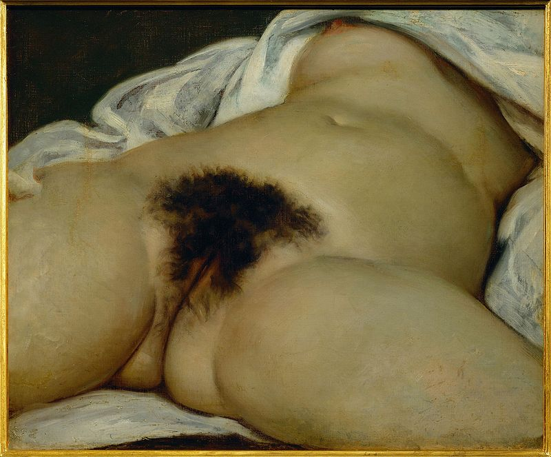 The Origin Of The World by Gustave Courbet|© WikiCommons