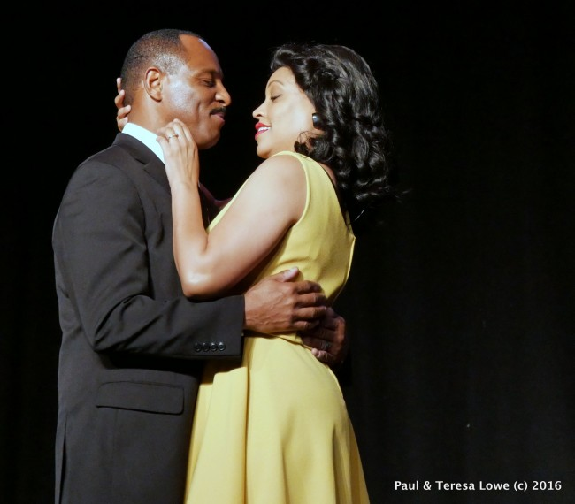 "Dr.Martin Luther King is masterfully portrayed by Actor Chaz ingram and Actress/Singer Daebrein Poiema as Coretta Scott King in the hit stage play ""Martin Duty Calls"", Directed by David Wendell Boykins, Written and Produced by Roy Parker Jr & Donna Parker"