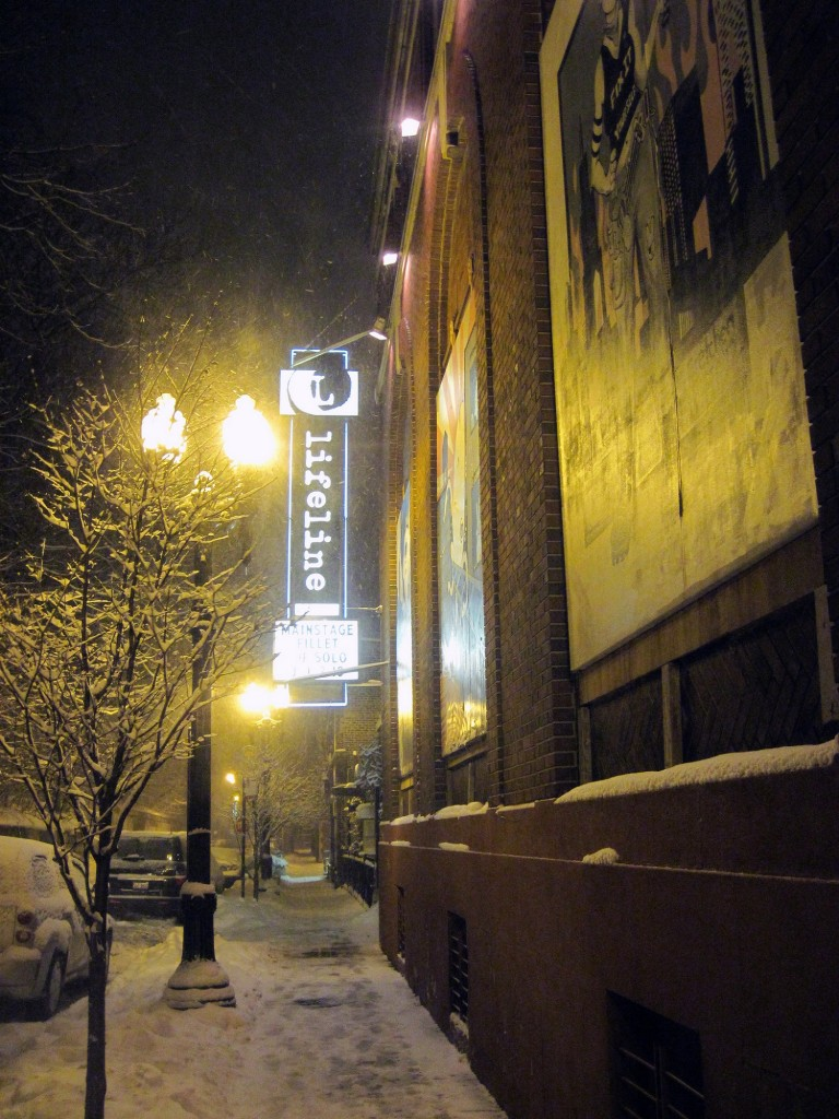 Outside of Lifeline Theatre | © Renee McGurk/Flickr