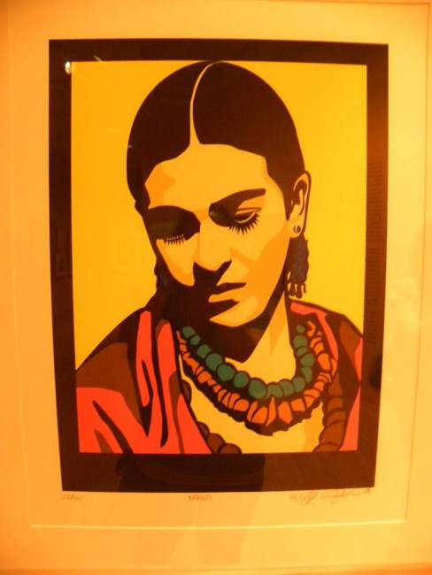 Frida Kahlo print from the National Museum of Mexican Art | © Irishmexi/Flickr