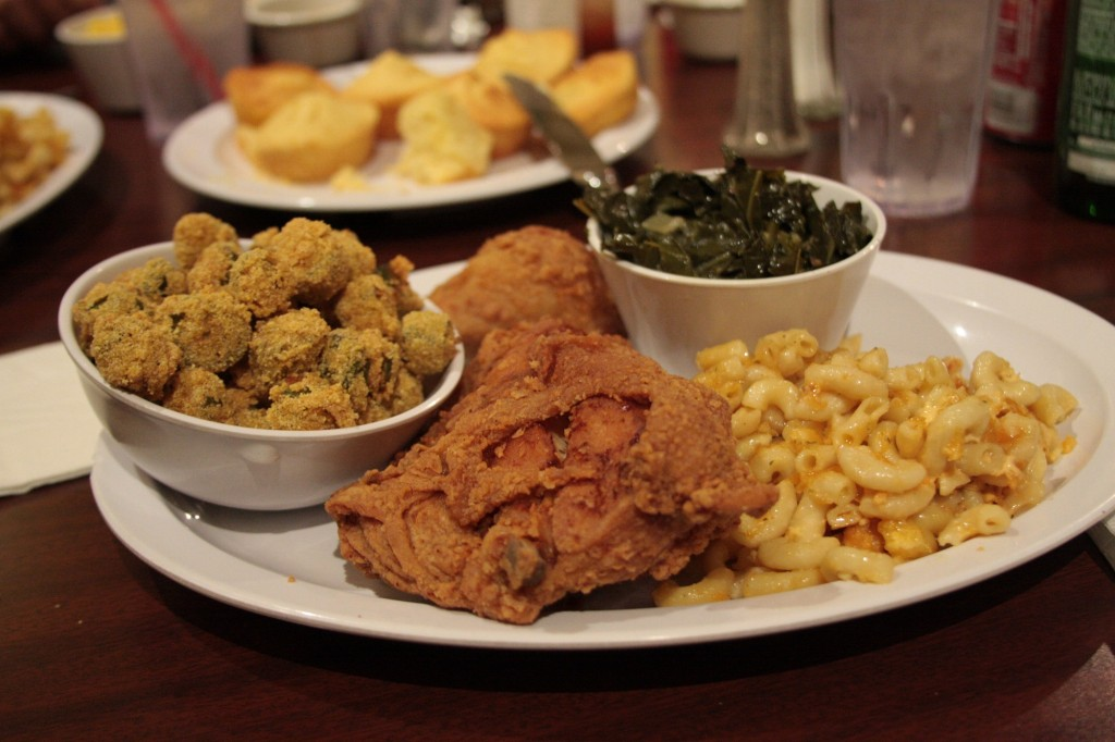 Plate of soul food | © Jennifer Woodard Maderazo/Flickr