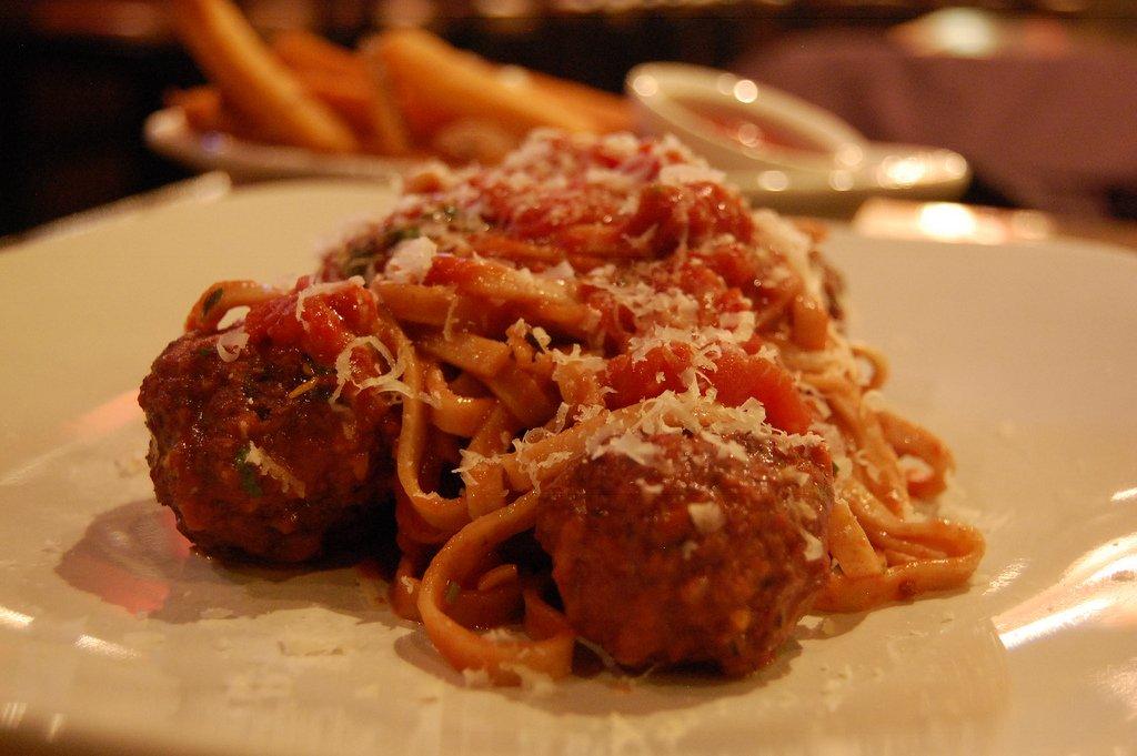 Plate of pasta   © Stu_spivack/Flickr
