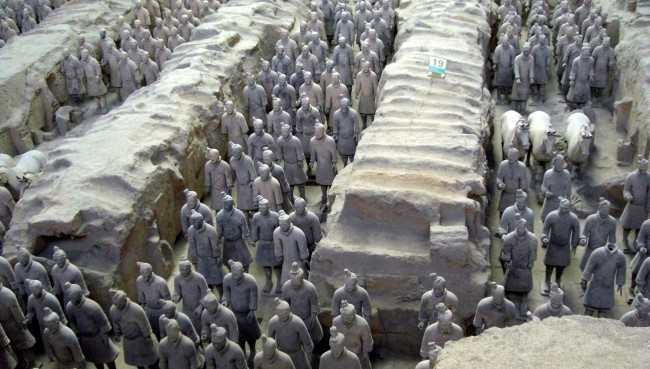 Terracotta Warriors | © Larry Koester/Flickr