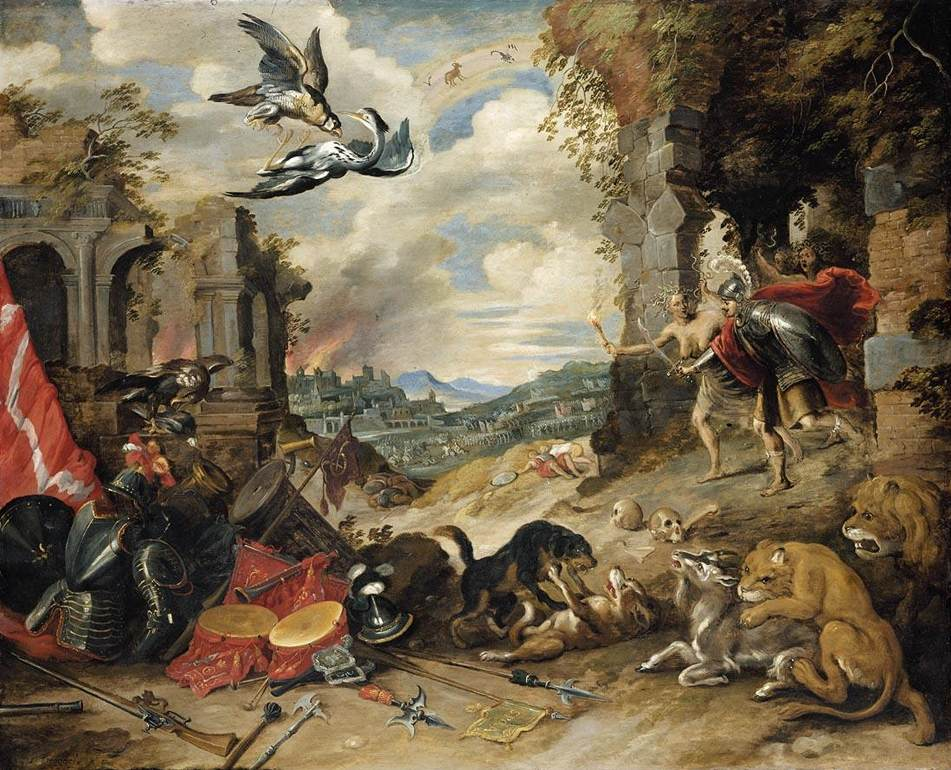 <em>Allegory of War</em> | © Web Gallery of Art/Wikimedia Commons