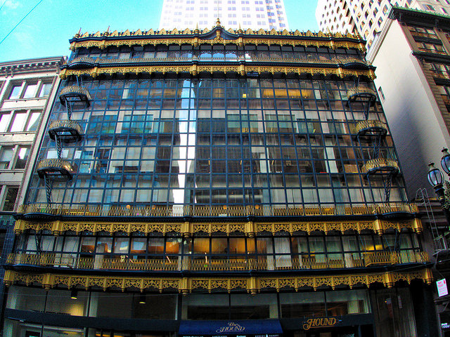 Hallidie Building © Sarunas Burdulis/Flickr