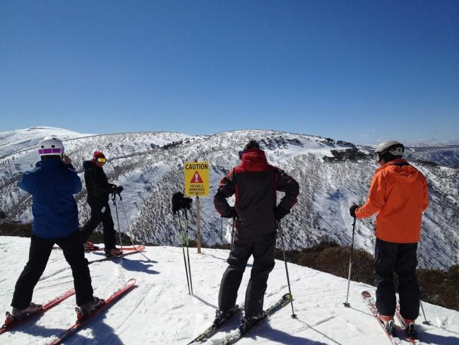 Skiing at Mt. Hotham | ©SamanthaBell/Flickr
