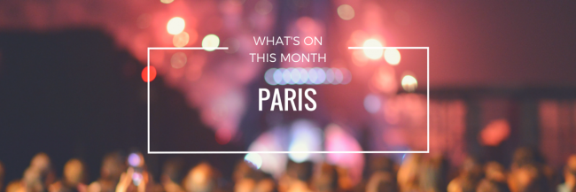 Where Is Europe >> What's On This Month In Paris
