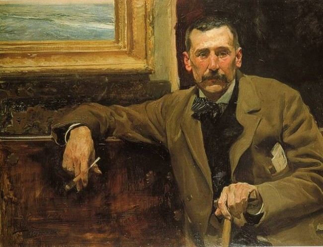 Benito Pérez Galdós, spanish writer | © Joaquin Sorolla