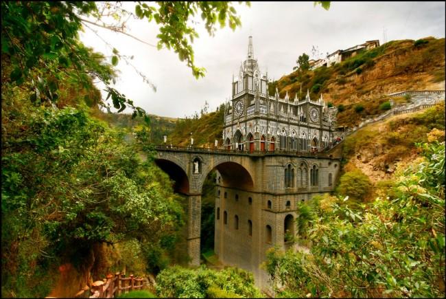 Santuario de las Lajas, Colombia | Courtesy Nariño