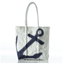The Anchor Tote by Sea Bags Maine. Photo Credit: Sea Bags
