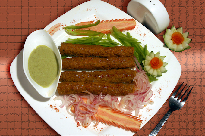 Seekh Kebab | Courtesy Of Moti Mahal Restaurant