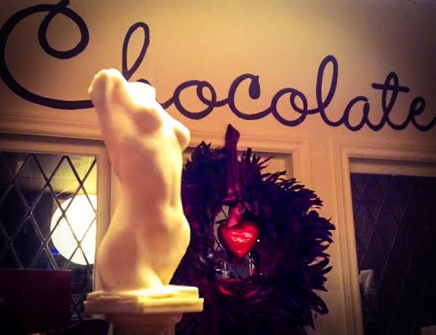 Solid White Belgian Chocolate Venus de Milo | Chocolate by Wickerhead