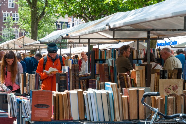 Boekenmarkt Op Het Spui, Amsterdam | © pml2008/Flickr