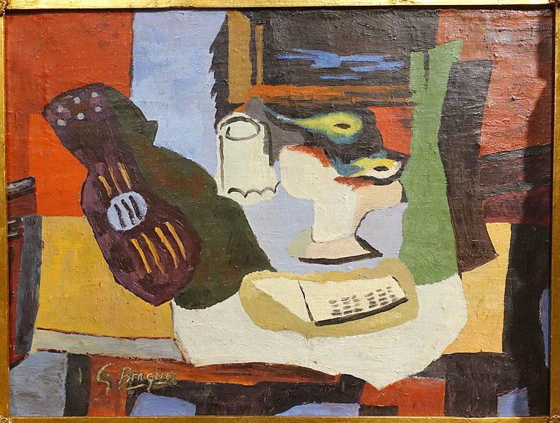 Still life,Artist Georges Braque/1926©CreativeCommons