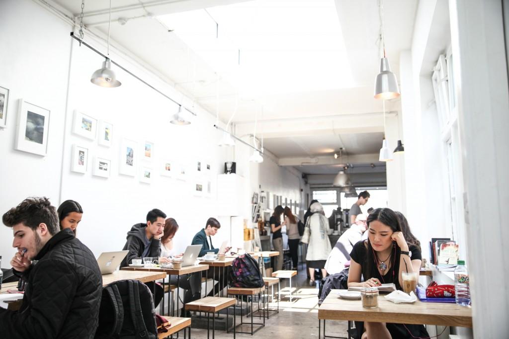 The Café   Courtesy of Store Street Espresso