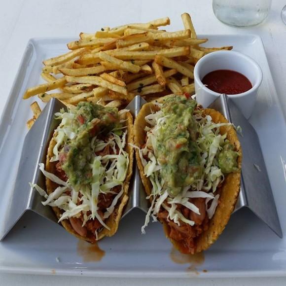 eLOVate's Guajillo Jackfruit Tacos. Photo Credit: eLOVate