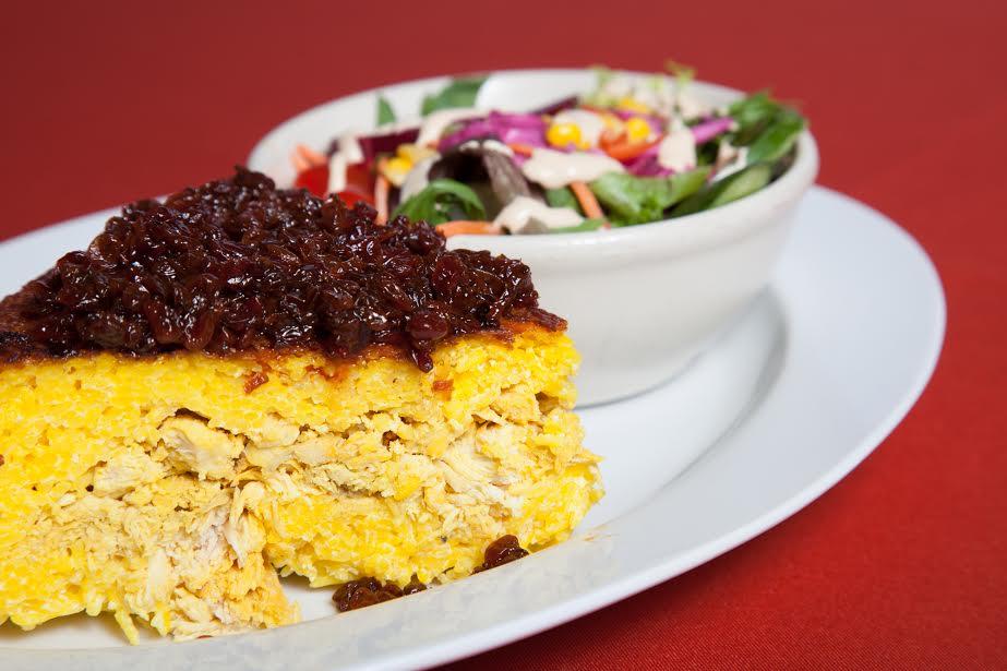Chicken Tahchin | Courtesy of Farsi Café