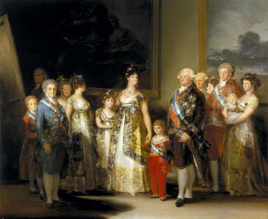 Francisco Goya, The Family of Carlos IV, 280 x 336 cm, 1800, Museo del Prado | © Lomita/WikiCommons1