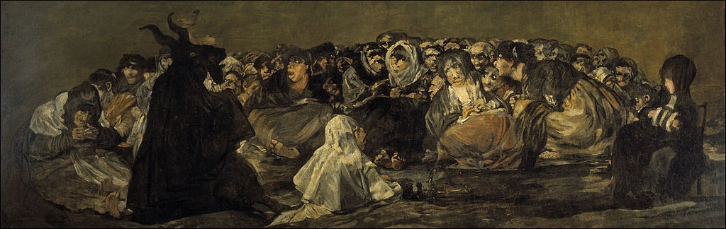 Francisco Goya, The Great He-Goat, 140.5 x 435.7 cm, 1820-1823, Museo del Prado | © Crisco 1492/WikiCommons