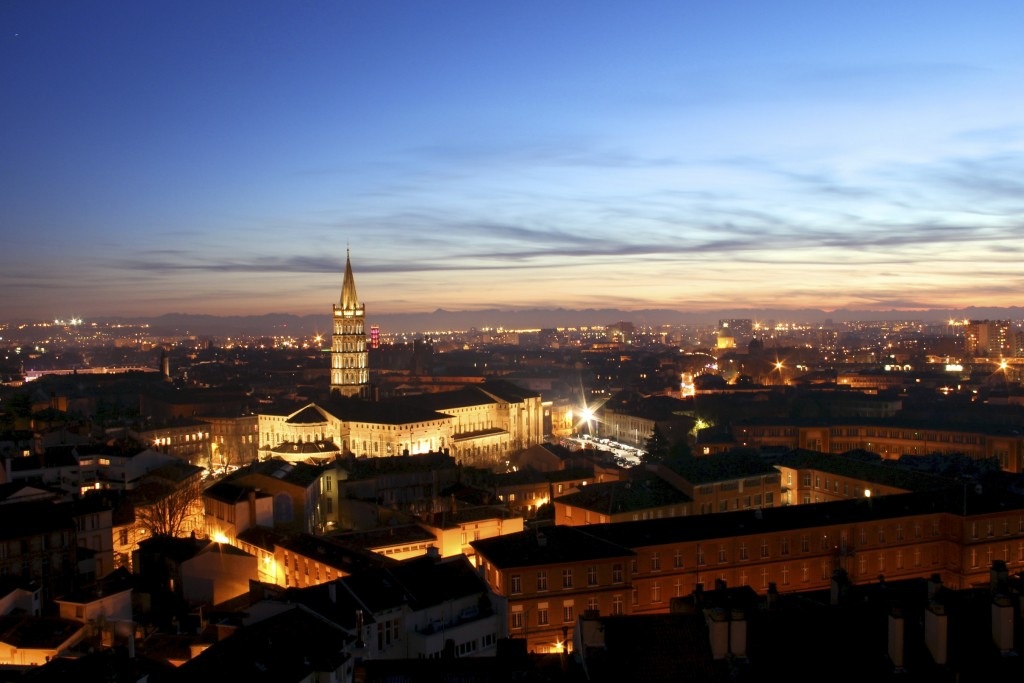 Toulouse by night |© M. Berkouk /WikiCommons