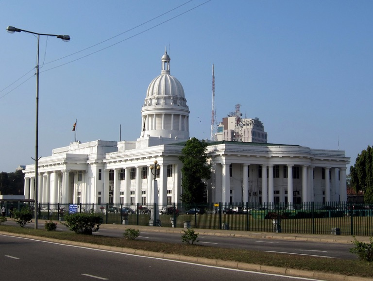 Town Hall Colombo - image courtesy of FamousWonders.net